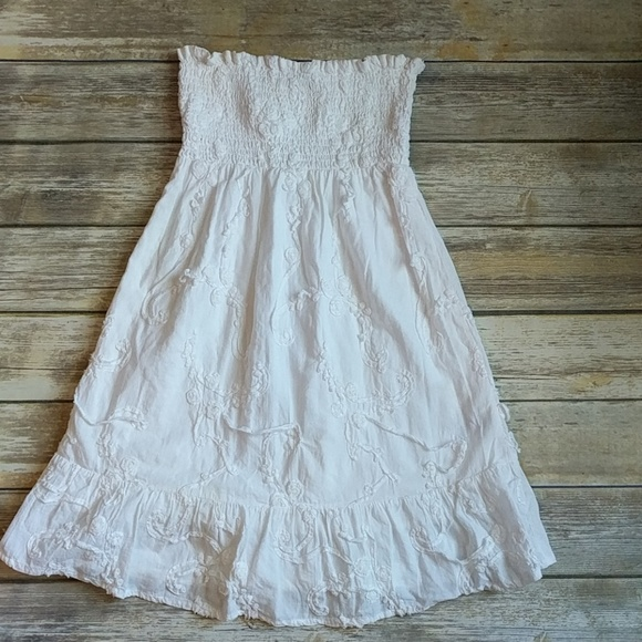 karlie Swim | White Dress Or Bathing Suit Beach Cover Up | Poshmark